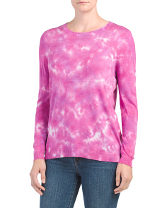 Tye Dye Fine Gauge Sweater