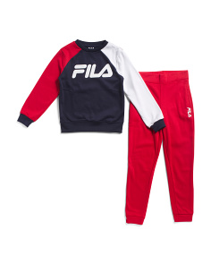 Big Boys 2pc Logo Top And Joggers Set