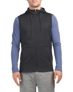 Fleece Sleeveless Full Zip Hoodie
