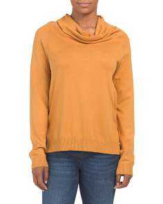 Cowl Neck Hi-lo Sweater