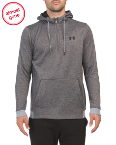 Fleece Lined Quarter Zip Hoodie