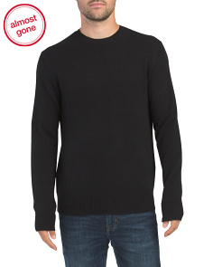 Haldon Cashmere Crew Neck Sweater