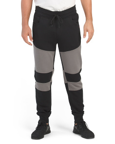 Paneled Active Sweatpants