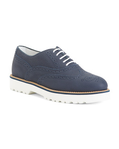 Made In Italy Suede Oxfords