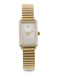 Women's Made In Usa Diamond Shirley Petite Bracelet Watch