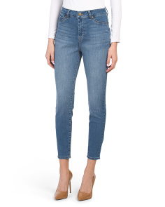 Petite High Waist Booty Lifter Skinny Jeans