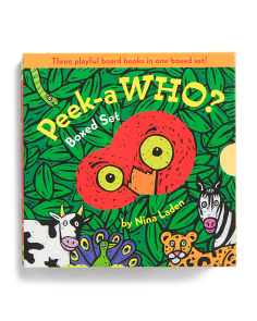 Peek A Who? Boxed Set