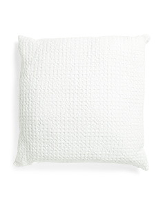Made In Portugal Waffle Euro Pillow