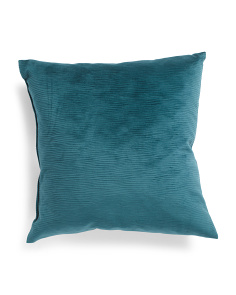 Made In Usa 22x22 Textured Velvet Pillow
