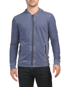Burnout French Terry Full Zip Hoodie