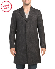 Wool Blend Suffolk Marley Coat