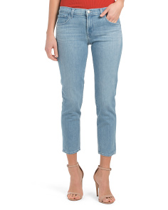 Made In Usa Sadey Mid Rise Slim Straight Jeans