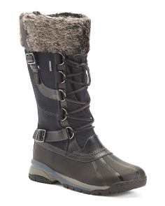Waterproof Leather Storm Boots
