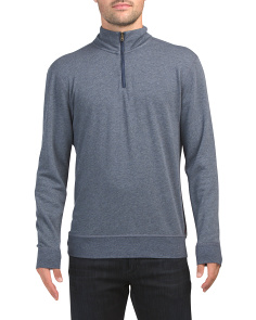 Quarter Zip Top