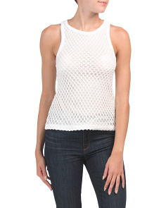 Made In Portugal Mesh Tank Top