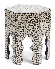 Handcrafted Capiz Shell Table