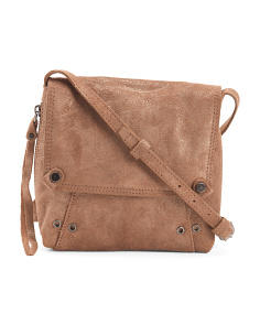 Leather Orian Flap Crossbody