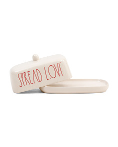 Spread Love Butter Dish