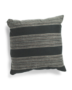 Made In Usa 20x20 Stripe Pillow