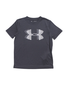 Boys Big Logo Tech Tee