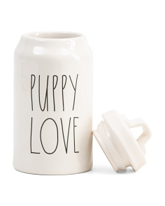 Puppy Love Treat Canister