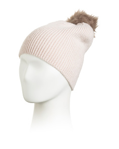 Fluffy Ribbed Hat