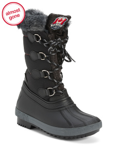 Made In Italy Waterproof Storm Boots