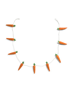6ft Carrot Garland