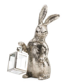 18in Bunny With Lantern