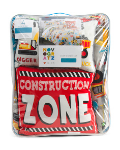 Construction Site Comforter Set