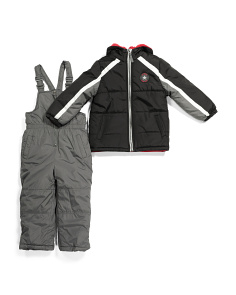 Little Boys Snowsuit Set