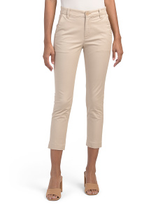 Slim Cropped Chino Pants