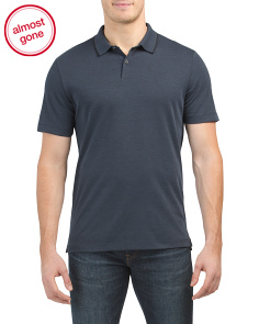 Pima Cotton Standard Polo With Tipping
