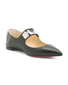 Made In Italy Leather Flats