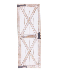 36in Barn Door Wall Art