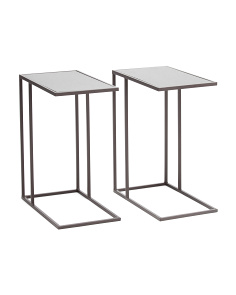 Set Of 2 Metal C Tables