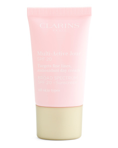 Made In France 0.5oz Spf20 Day Cream For Fine Lines Serum