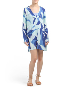 Palm Reader Cover-up Tunic