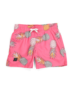 Big Boys Pineapple Volley Shorts