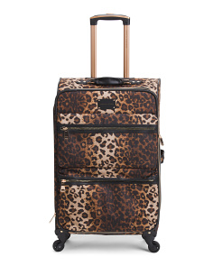 25in Leopard Nylon Expandable Spinner