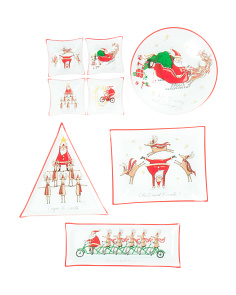 Christmas Follies Serveware Collection