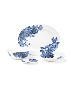 Midnight Blue Porcelain Collection