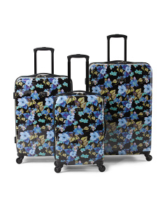 Floral Hardside Twister Collection