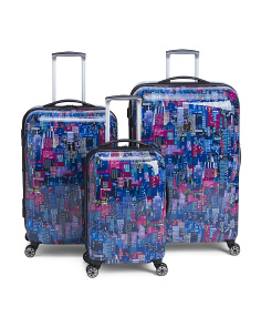New York Night Hardside Luggage Collection
