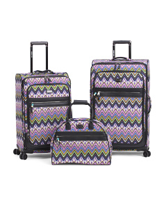 Patchwork Luggage Collection