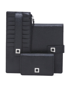 Leather Passport Wallet Collection