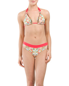 Crystalline Bikini Top With Bottom