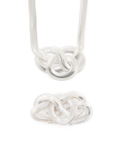 Sterling Coda Di Toppo Knot Collection
