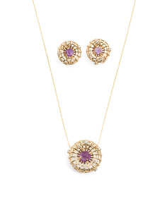 Amethyst Circles Collection
