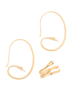 Made In India 18k Gold Plated Serpent Collection